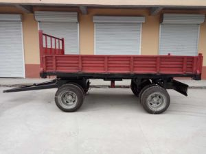 10 Ton Air Brake Tipping Trailer pictures & photos