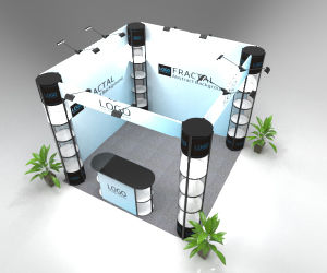 3X3m Aluminum Modular Exhibition Booth for Sale pictures & photos