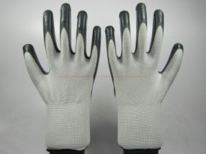 Nitrile Coated Labor Protective Industrial Working Gloves (NS001) pictures & photos