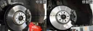 High Performance Radiating Brake Disc pictures & photos