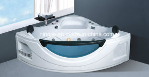 Ningjie L; Uxury Massage Bathroom Tub with The Light Nj-3004 pictures & photos