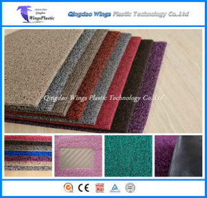 Single Double Colour PVC Cushion Mat, PVC Coil Mat, PVC Mat pictures & photos