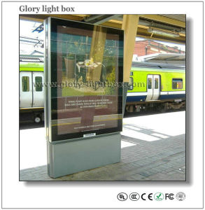Railway Station LED Scrolling Lightbox Self-Standing (SR021) pictures & photos