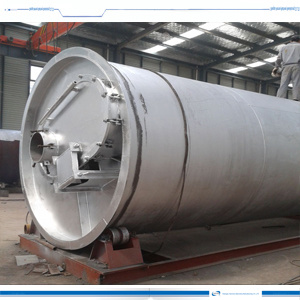 Waste Tyre to Oil Refinery New Pyrolysis Plant/Machine pictures & photos