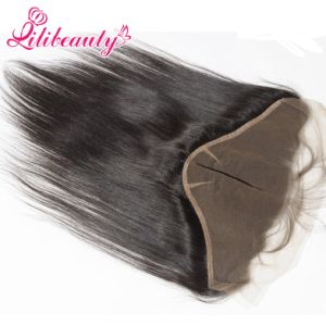 Peruvian Virgin Hair 13X6 Ear to Ear Straight Lace Frontal pictures & photos