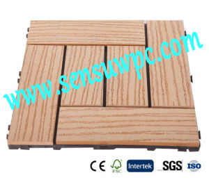2017years/ Best Hot Sale DIY Decking Tiles with Wood Plastic Composite/ Outdoor Floor pictures & photos
