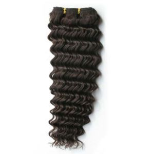100% Indian Remy Deep Wave Weaving Human Hair pictures & photos