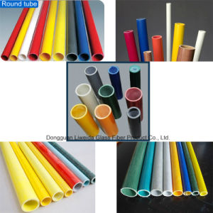 Multi-Function Fiberglass Pultruded Tube, FRP Tube/Pipe, GRP Pipe/Tube