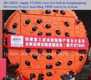 Tbm Steel Cord Rubber Conveyor Belt pictures & photos
