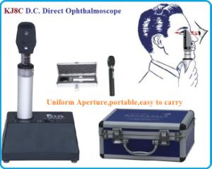 Direct Current Ophthalmoscope, Ophthalmic Equipment, Microscope (KJ8C) pictures & photos