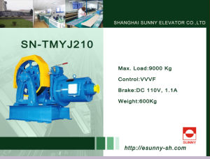 Lift Motor Traction Machine (SN-TMYJ210) pictures & photos