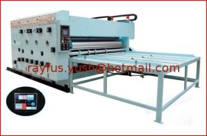 Flexo Printing Slotting Machine with Automatic Lead-Edge Feeding pictures & photos
