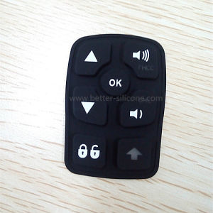 Customize Laser Engraving Rubber Silicone Keypad pictures & photos