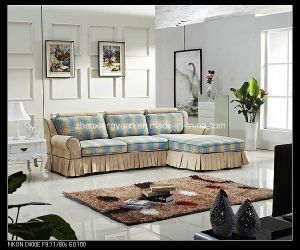 Living Room Prdocuts Sectional Fabric Sofa Bed with Storage