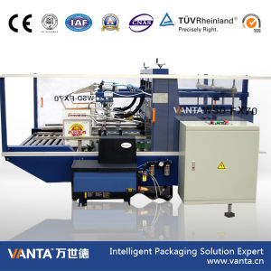 70cpm Carton Making Machine Hot Melt Glue Carton Sealer