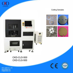 High Presion 500W Fiber Laser Cut Machine for Metal pictures & photos