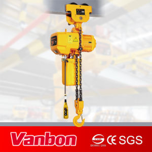3t Electric Chain Hoist/ Dual Speed/ Manual Trolley Type pictures & photos