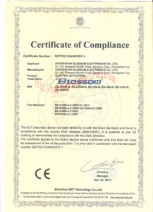 Wafer Type Motorized Ball Valve with Ce, ISO9001 (DN150) pictures & photos