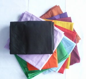 Polyester Cotton 90GSM Black Pocketing Fabric pictures & photos