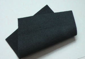 Black PP/Pet Non Woven Geotextile pictures & photos