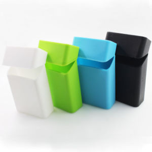 Wholesale Customized Designs Tobacco Pack Cover Holder Box Silicone Cigarette Case pictures & photos