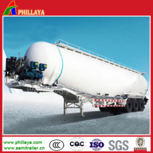 Three Fuwa Axles Trailer Cement Tanker pictures & photos