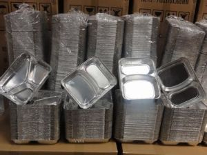 Hot Sale Aluminum Foil Take Away Food Containers pictures & photos