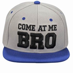 Promotion 6 Panel Acrylic Snapback Cap with Custom Embroidery pictures & photos