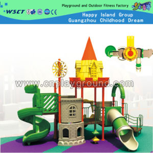Factory Price Small Castle Amusement Equipment Outdoor Playground (HD-2201) pictures & photos