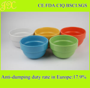 China Factory Supply Food Safe Stacked Ceramic Bowl, Mixing Bowl
