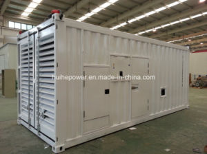 905kVA Diesel Generator Set of Containerized Type with Perkins Engine pictures & photos