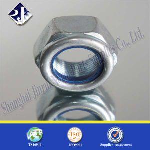 Galvanizing DIN985 Hex Lock Nut Nylon Nut pictures & photos