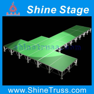 Stage, Aluminum Mobile Stage, T- Shape Stages, Stage Equipment pictures & photos