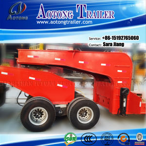 2 Lines 4 Axles Dolly Trailer Low Bed Trailer pictures & photos