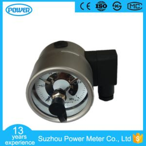 60mm 2.5′′ Full Stainless Steel Back Type Electric Contact Manometer pictures & photos