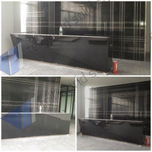 150 Kinds Desing of Custom Modern L Shape Bar Counter, White Bar Counter, Modified Acrylic Bar Counter pictures & photos