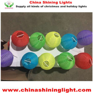 New Coming Popular Lantern Style Solar Panel LED Holiday Lights pictures & photos