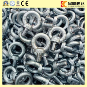 Rigging Hardware Galvanized Carbon Steel Eye Bolt with Screw pictures & photos