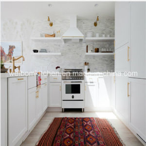 2016 Welbom Canada Projects White Solid Wood Kitchen Cabinet pictures & photos