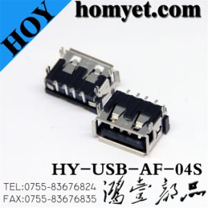 USB a Type Female Connector for Computer Products (USB-AF-04S) pictures & photos