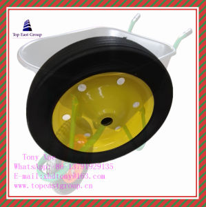Super Quality Solid Rubber Wheel 300-4, 350-8, 400-8, 500-10 pictures & photos