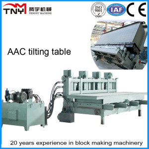 AAC Production Line (tilting table) Brick Machinery pictures & photos