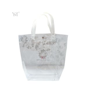 Lady Fashion Beauty Women Clear PVC Cosmetic Toiletry Makeup Tote Bag Handbag pictures & photos