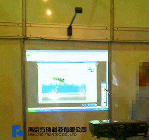 Ea10-No-Occlusion Interactive Whiteboard, Wall-Mounted Whiteboard pictures & photos