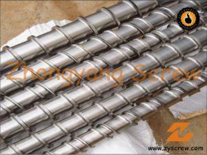 Bimetallic Single Screw Barrel for PE Film Extrusion Screw Barrel PVC Pipes pictures & photos