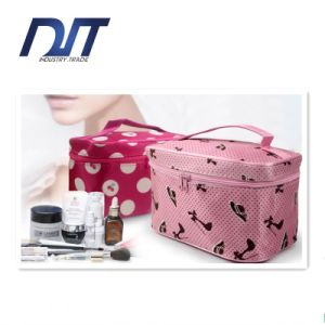 Korea Style Travel Portable Cosmetic Bag Large Capacity Folding Waterproof