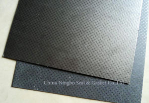 Reinforced Tanged Graphite Gasket Sheet pictures & photos