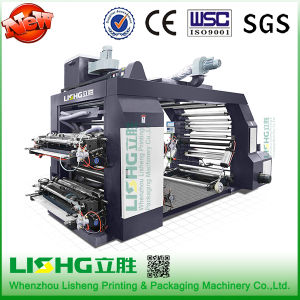 Ruian 4 Color 1000mm LDPE/HDPE/BOPP/ Film Bag Flexographic Printing Machine pictures & photos