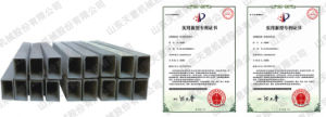 Tianyi Adjustable Molding Core Fireproof Cement Pipe Flue Forming Machine pictures & photos