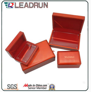 Coin Collection Box Cufflink Gift Box Wooden Cash Box Velvet Medal Pack Box (G10) pictures & photos